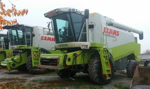 Claas Lexion 450 Evolution (Клаас Лексион 450) зерноуборочный комбайн.
